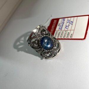 Кольцо с Кианитом фото