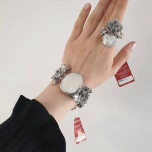 Гарнитур Орхидея (браслет + кольцо) фото