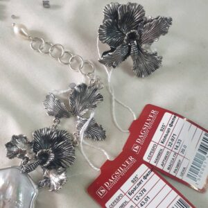 Гарнитур Орхидея (кольцо + браслет) фото