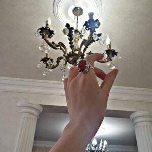 Кольцо с Сердоликом фото